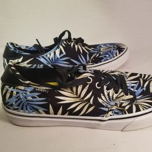 Tropical Blue Vans Ortholite Sole Sneakers